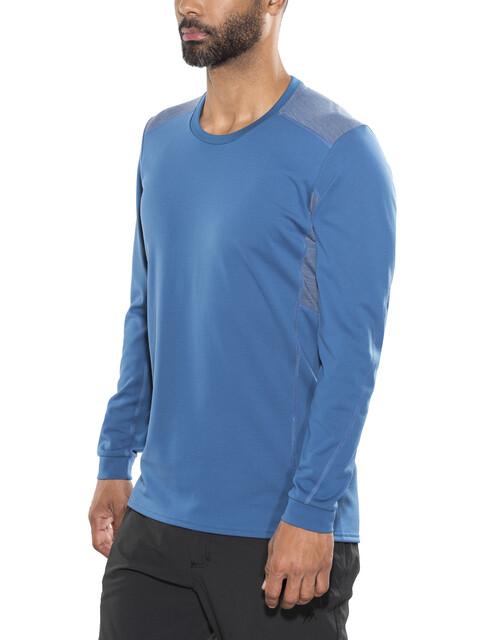 Norrøna M's Falketind Super Wool Shirt Denimite